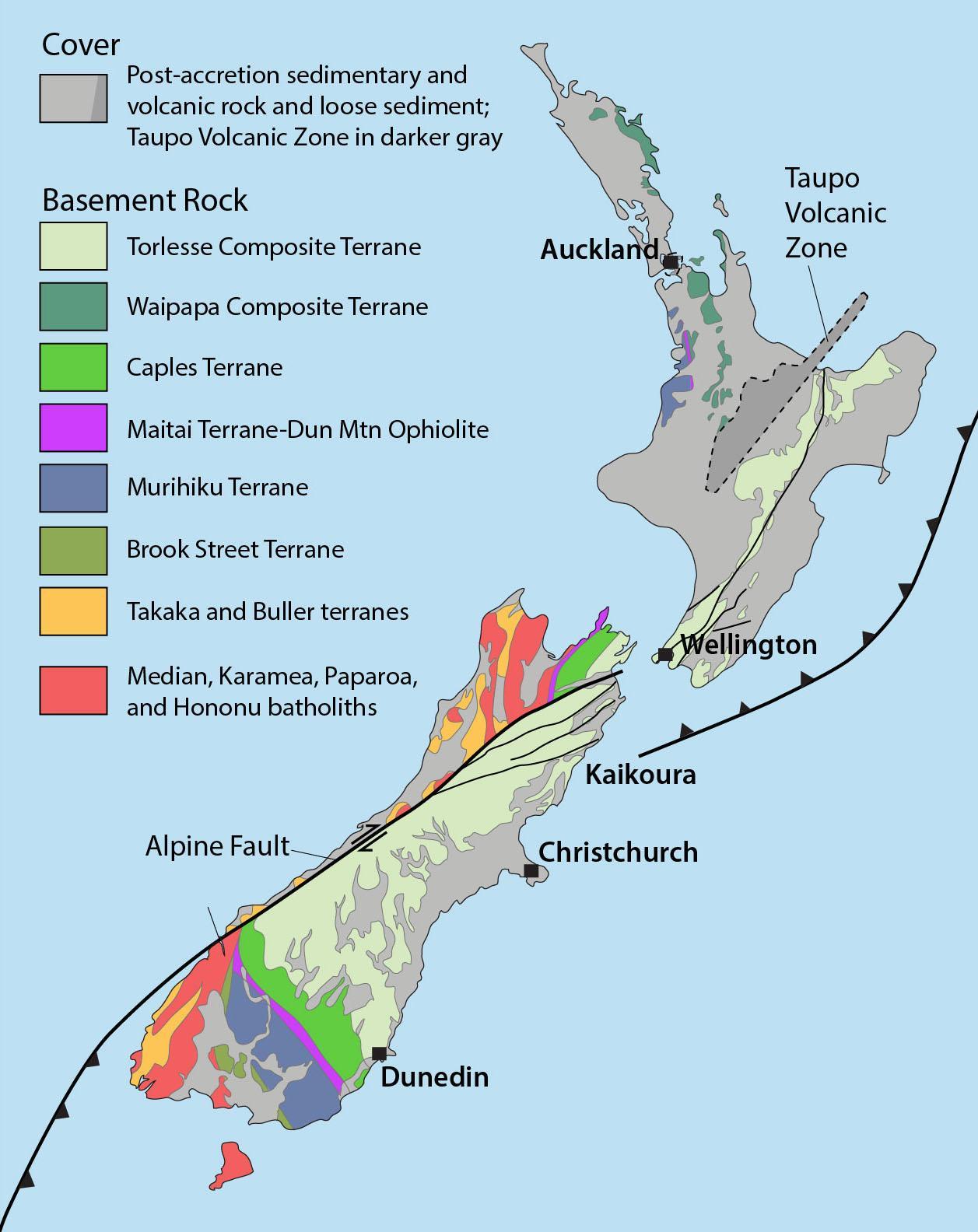 Map Of Australia Nz.New Zealand Natural Resources Map Map Of New Zealand Natural